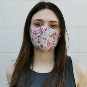 CANADA GREY STAMPS 2 IN 1 MASK